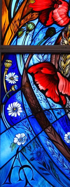 https://flic.kr/p/pR44YH | St Johns WW1 Memorial Poppy window | World War 1…