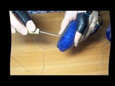 МК Как подшить валяные тапочки часть 2 - YouTube