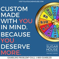 When you sign up, you'll automatically have the opportunity to win free cash by spinning our Welcome Wheel! Just head to http://sugarhou.se/2cmWDAb today and start taking advantage of all the great bonuses and rewards we offer!  #sugarhouse #onlinecasino #gaming #play #win #fun #join #signup #winning #free #cash #money #spin #games #slots #casino