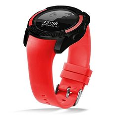 DXABLE V8 Smart Watch, Sports Fitness Tracker Bluetooth Wrist Watch with SIM Card and TF Card Slot Camera Message Notification Sleep Monitor for iPhone Samsung and other Android Smartphone (Red) 21.99  #DXABLE #DXABLEV8SmartWatch,SportsFitnessTrackerBluetoothWristWatchwithSIMCardandTFCardSlotCameraMessageNotificationSleepMonitorforiPhoneSamsungandotherAndroidSmartphone(Red) #Red #V8 About the...