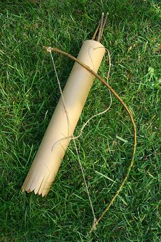 Floradora: How to Make a Toy Bow and Arrow Set