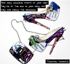 christian+louboutin+quotes | Christian Louboutin Quotes | The Model Experience