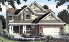 Traditional   House Plan 20226