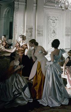 by cecil beaton 1948...love this high end fashion..