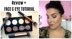 NYX Highlight & Contour Pro Palette - Review & Tutorial