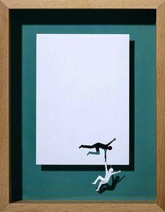 Des oeuvres incroyables, faites avec une simple feuille de papier !