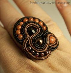 Soutache ring! Love!