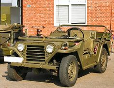 The authors ex Danish Army M151A1