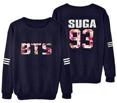 KPOP BTS Sweater Monster JIN SUGA JIMIN V Hoodie Unisex S...