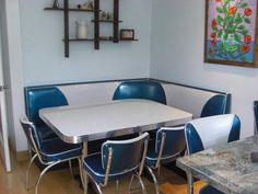 Booth Seating: Island City, Retro, Kitchen, Home Retro Furniture, Furniture Outlet, Discount Furniture, Kitchen Furniture, Rustic Furniture, Booth Seating In Kitchen, Kitchen Booths, Diner Booth, Small Kitchen Redo