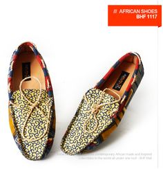 African Shoes for men _BHF1117 --would wear these men's shoes!