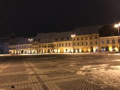 Sibiu city center: Big Square (Piata Mare). Transylvania, Romania Transylvania Romania, Visit Romania, Old City, Debt, Cosy, Places To See, The Good Place, Tours, Mansions