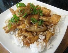 Pressure cooked Teriyaki Chicken