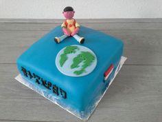 Adoptie taart voor collega