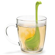 #super Get ready for a legendary tea time! Fill with loose tea and #Baby #Nessie will dive into the deeps of your cup to release your favorite flavors. BPA-free s...