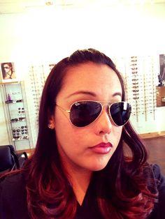 #Raybans Eyewear, Pilot, Sunglasses Women, Ray Bans, How To Wear, Fashion, Moda, Eyeglasses, Fashion Styles
