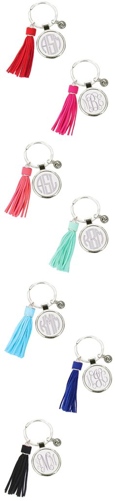 Check out these Monogrammed Tassel Keychains in brand new, bold colors! Perfect for the upcoming fall and winter seasons! Get yours personalized now at Marleylilly.com!