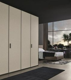 POLIFORM: Senzafine Tess wardrobe, Arca bed, Ventura chair and Sintesi desk