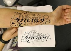 Font Forearm Tattoo - 110  Awesome Forearm Tattoos  <3 <3
