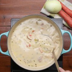 One-Pot Ham & Potato Soup