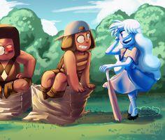 Steven universe,фэндомы,SU art,SU Персонажи,Ruby (SU),Sapphire (SU)