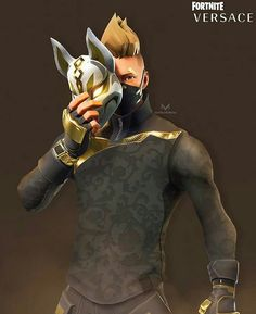 Fortnite X Versace looks so much better Game Wallpaper Iphone, Wallpaper Backgrounds, Fortnite Thumbnail, Best Gaming Wallpapers, Epic Games Fortnite, Video Game Art, Video Games, Photoshop Photography, Black Panther