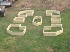 raised beds can be made in cool shapes and patterns, gardening, raised garden be. raised beds can