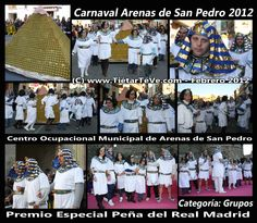 Carnaval de Adultos 2012 de Arenas de San Pedro. Grupo del Centro Ocupacional Municipal.