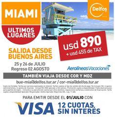 Miami de Regalo. con #AerolineasArgentinas