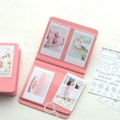 Instax Mini Polaroid Album w/ photo deco stickers!