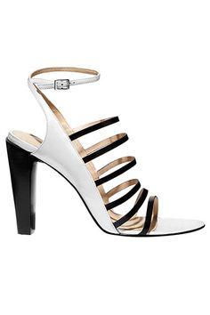 The BAZAAR: Dive Into Blue: 3.1 Phillip Lim sandal, $495, similar styles available at shopBAZAAR.com