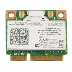 Laptop Network Cards GE70 Apache WIFI Card Dual Band Wireless AC 3160 3160HMW Notebook Network Cards VC893 T51 #Affiliate