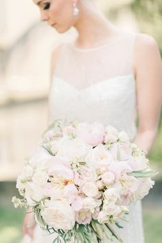 Soft blush pretty: http://www.stylemepretty.com/2015/09/12/pops-of-pretty-5/