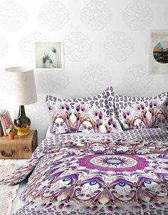 Mandala Tapestry / Mandala Wall Hanging / Mandala Bedspread