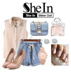 """""""She In"""" by monkeymonimoo ❤ liked on Polyvore"""