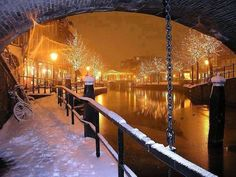 Winter, Amsterdam - #winter #amsterdam #city