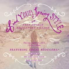 Free People Spring Style Event!