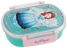 New! Lunch Box 360ml Bento Sophia Blue Dress Disney Japan F/S #Disney