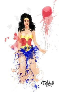 wonder woman is so pretty here!