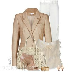 A fashion look from July 2014 featuring Moschino tops, Paule Ka blazers and Moschino pants. Browse and shop related looks. Diva Fashion, Fashion Looks, Womens Fashion, Fashion Sets, Fashion Styles, Fashion Beauty, Modest Outfits, Cute Outfits, Gown Party Wear