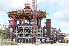 Le Carrousel des Mondes marins, Nantes, France.