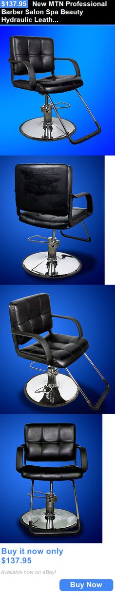 Stylist Stations And Furniture: New Mtn Professional Barber Salon Spa  Beauty Hydraulic Leather Chair Black