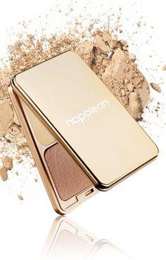 Napoleon Perdis Camera Finish pressed powder (new gold packaging)