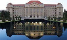 Debreceni Egyetem Homeland, Hungary, Budapest, Louvre, University, Retro, Travel, Viajes, Destinations