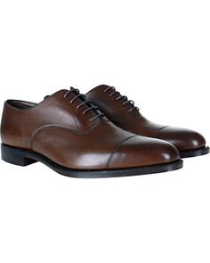 Loake 1880 Aldwych Oxford Dark Brown Calf Mörkbrun 627e6deb16910