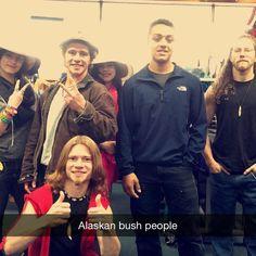 Alaskan Bush People- Matt, Bear & Joshua Bam Bam Brown
