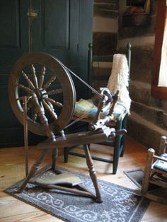 Spinning and fiber arts are such a lost art. It is my passion. Some day I will own a cute little fiber store I will sit in there and spin all day :) Spinning Wool, Hand Spinning, Spinning Wheels, Hello Kitty Wallpaper, Bead Loom Patterns, Tapestry Weaving, Loom Beading, Fiber Art, Nostalgia