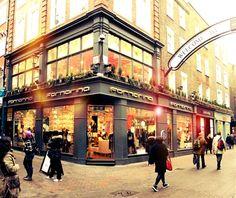 Fornarina on Carnaby Street, London.