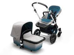 Bugaboo Cameleon3 Elements Kinderwagen Specialedition - Grey Melange Ombre - Bild 1