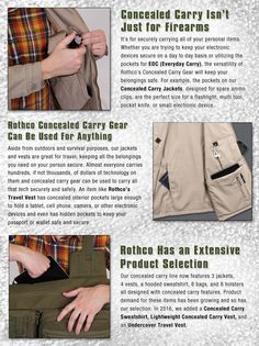 Concealed Carry Gear for Everyday Use